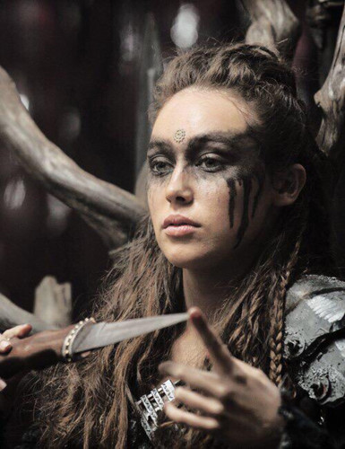 Commander Lexa (The 100) 壁紙 entitled Lexa the 100