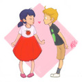 Little Marinette and Adrien