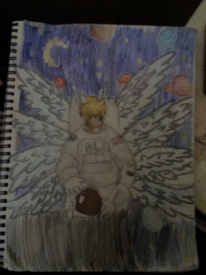 Lucemon in space