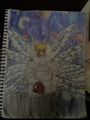 Lucemon in space - anime photo