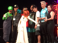 Luigi and Daisy at the Kawaii Kon Karaoke Finals! - luigi photo