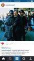 Lupita Nyong'o, Mark Hamill and Oscarl Isaac - star-wars photo