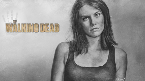 The Walking Dead karatasi la kupamba ukuta entitled Maggie Greene