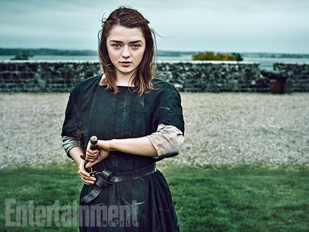 Maisie Williams as Arya Stark Entertainment Weekly Portrait