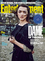 Maisie Williams as Arya Stark in Entertainment Weekly Cover
