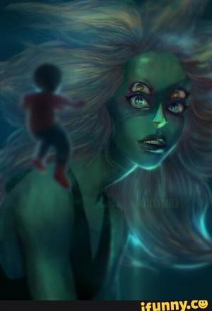 Malachite Fusion Art