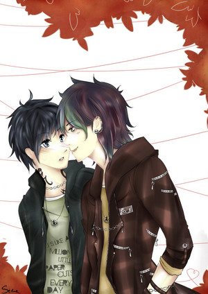 Malec Fanart - Red Leaves