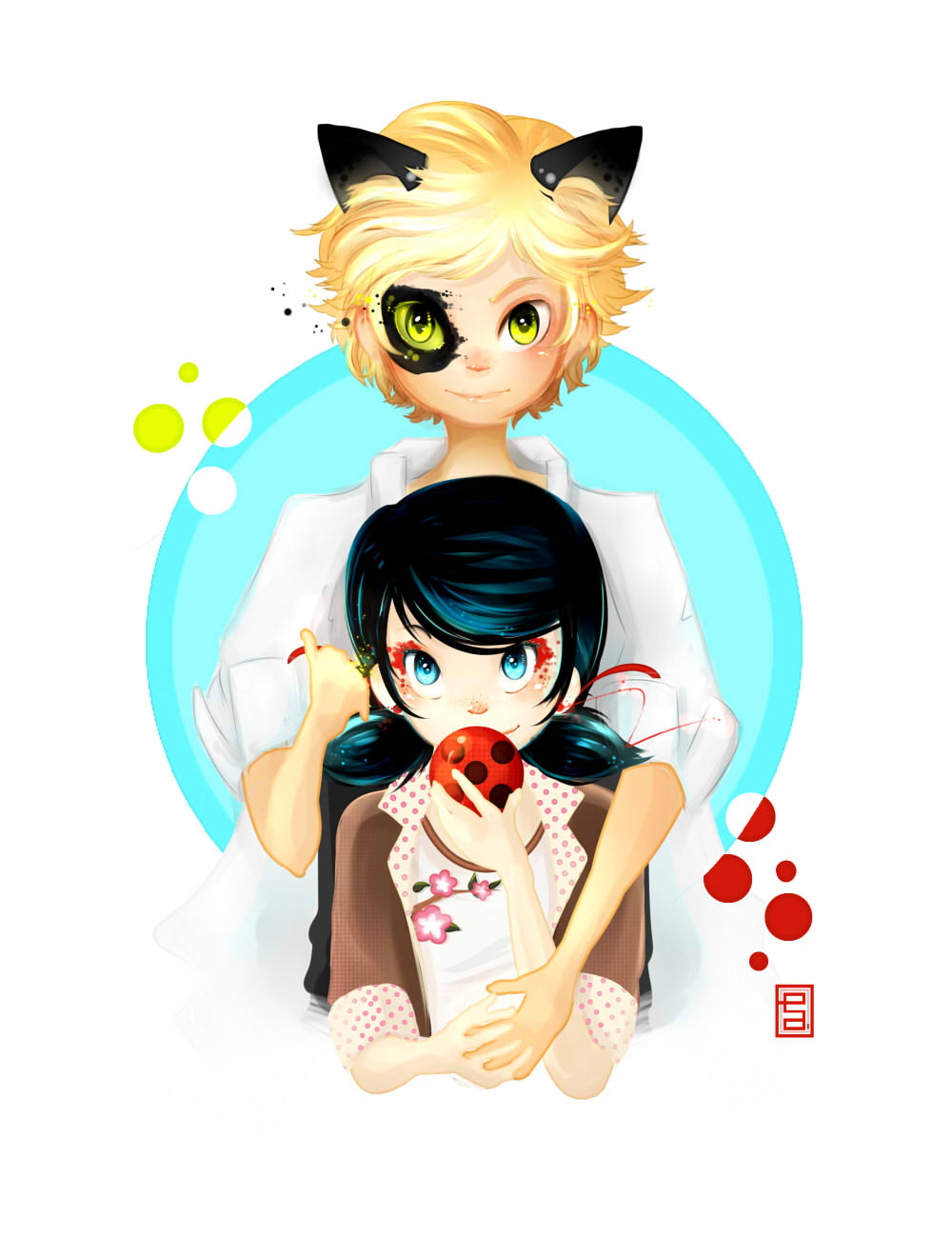 Marinette And Adrien Miraculous Ladybug Fan Art