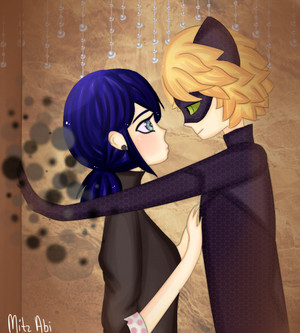 Marinette and Chat Noir