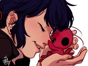 Marinette and Tikki
