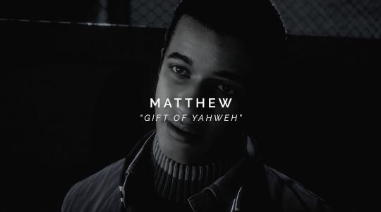 Matthew - Name Meaning - Until Dawn Fan Art (39485190 ...