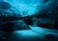 Mendenhall ice cave, Juneau Alaska - earth-planet photo