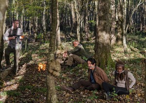 6x15 ~ East ~ Michonne & Glenn