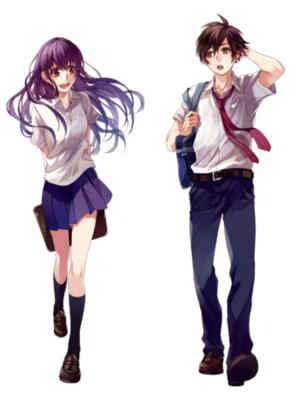 Mocchi and Akari