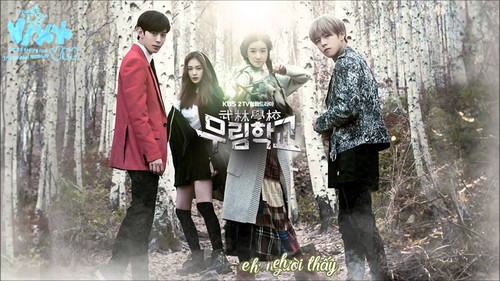 Korean Dramas پیپر وال called Moorim School: Saga of the Brave