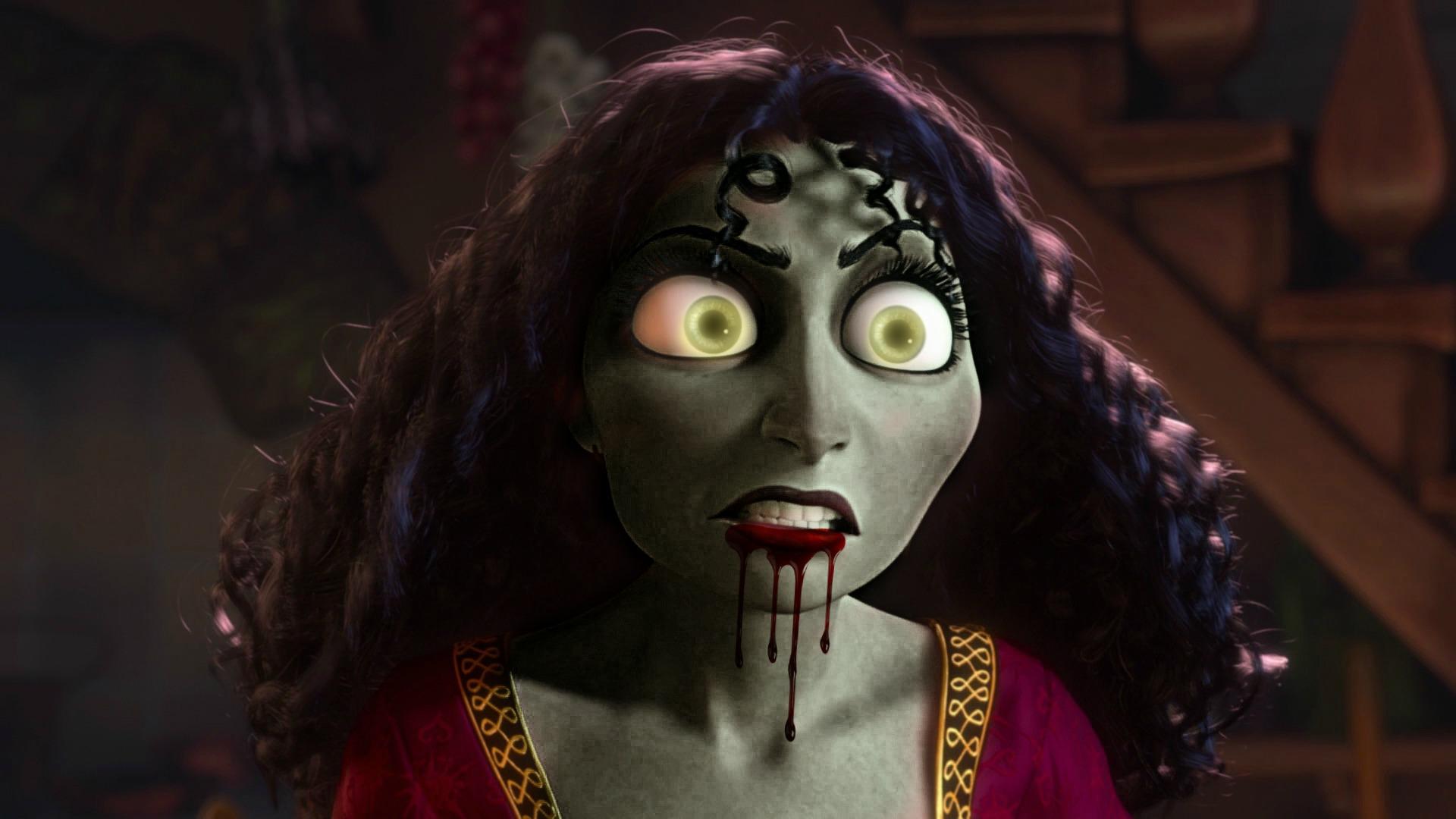 Mother Gothel Zombie