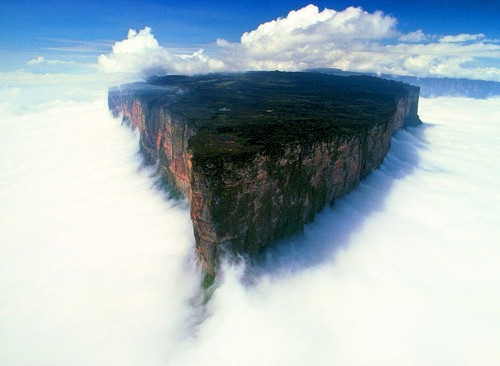 Earth planet karatasi la kupamba ukuta entitled Mount roraima, South africa