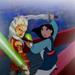 Mulan and Ahsoka - disney-crossover icon