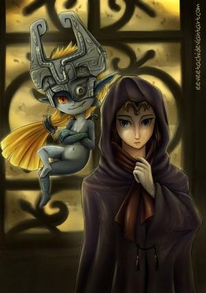 Mysterious princesses of twilight door Eeveetachi