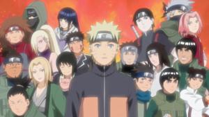 Naruto's friendships