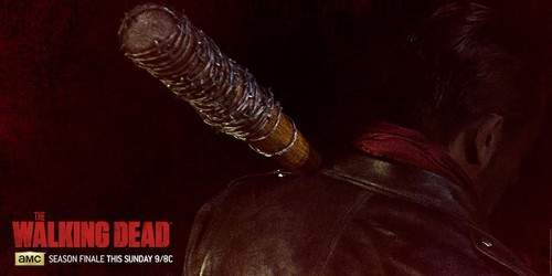 the walking dead wallpaper titled Negan and Lucille Teaser