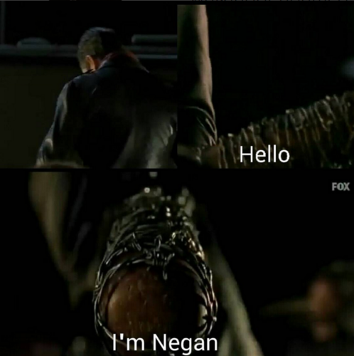 The Walking Dead Hintergrund called Negan