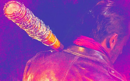 The Walking dead wallpaper titled Negan