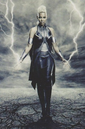 "New 'Empire' stills for ""X-men: Apocalypse"" -- Alexandra Shipp as Ororo Munroe / Storm"
