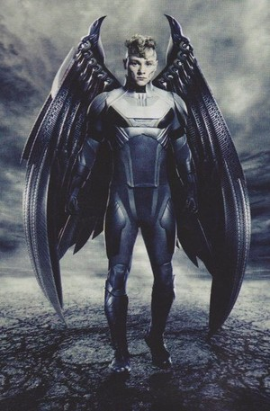 """New 'Empire' stills for """"X-men: Apocalypse"""" -- Ben Hardy as Archangel / Warren Worthington III"""