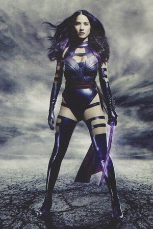 "New 'Empire' stills for ""X-men: Apocalypse"" -- Olivia Munn as Elizabeth Braddock / Psylocke"