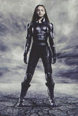 "New 'Empire' stills for ""X-men: Apocalypse"" -- Sophie Turner as Jean Grey"