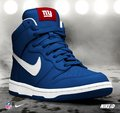 New York Giants Nike Dunk NFL iD