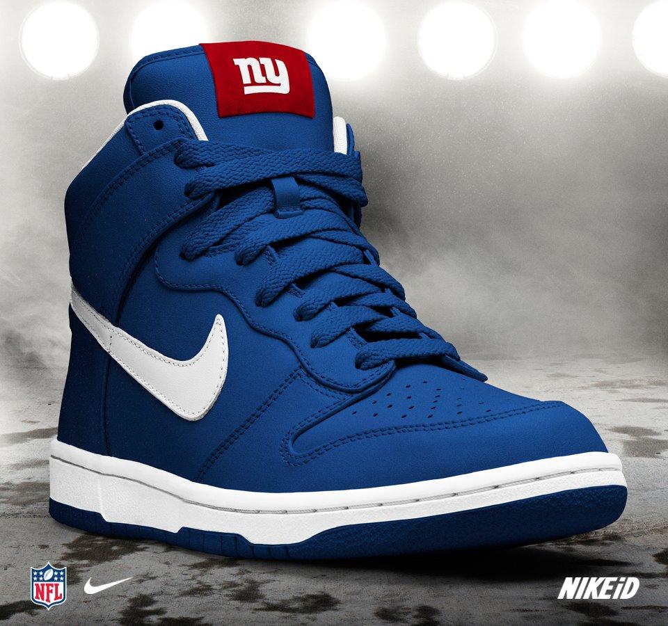 Nike Imagens New York Giants Nike Dunk Nfl Id Hd Wallpaper And