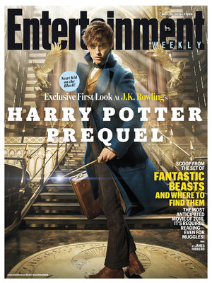 Newt Scamander on Entertainment Weekly