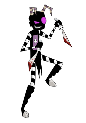 Nightmare Nny with knives