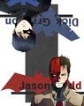 Nightwing and Red Hood  - batman fan art