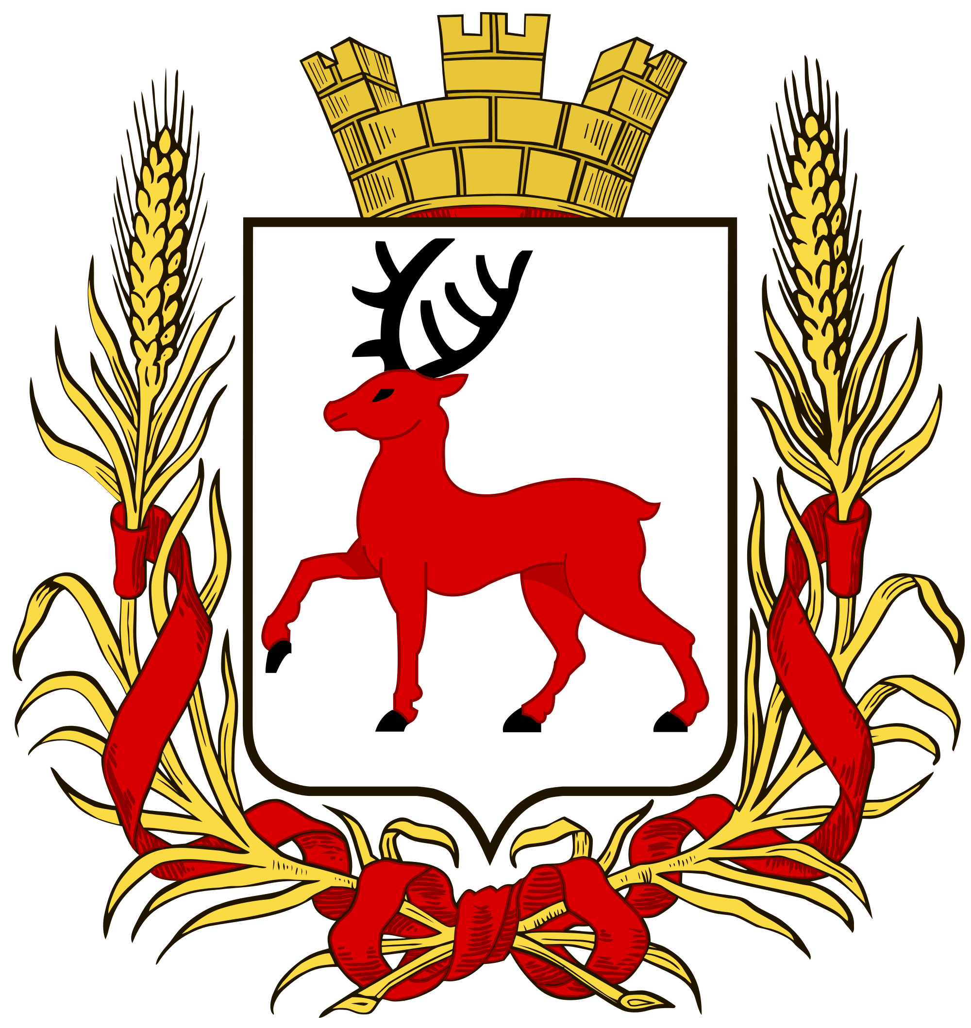 Coat of arms of Novgorod: description, photo, meaning 91
