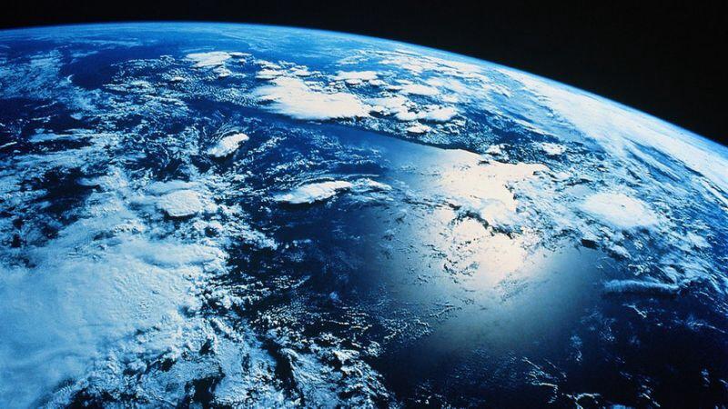 Ocean seen from Космос