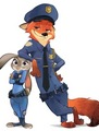 Officer Judy Hopps and Officer Nick Wilde