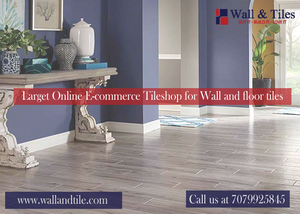 Online E-commerce Tileshop for tường and floor tiles