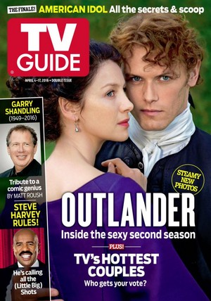 Outlander on TV Guide Cover