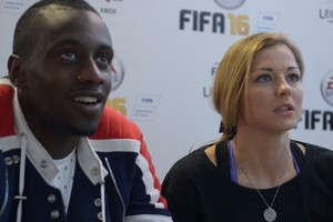 PSG colleagues : Blaise matuidi & Laure Boulleau.