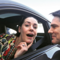 Paget and Thomas on set of Criminal Minds :) - hotch-and-emily photo