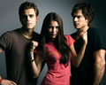Paul Wesley, Nina Dobrev, Ian Somerhalder - hottest-actors photo