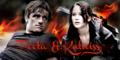 Peeta/Katniss Banner - On Fire - peeta-mellark-and-katniss-everdeen fan art