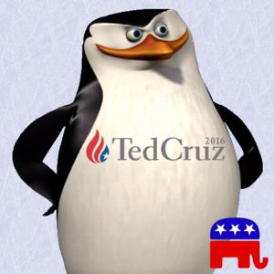 Penguins for Cruz!