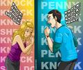 Penny and Sheldon - penny fan art