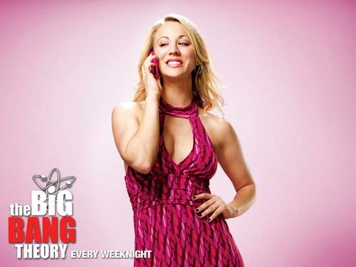 The Big Bang Theory wallpaper possibly with a cocktail dress called Penny