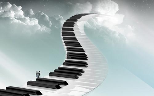 पियानो वॉलपेपर entitled पियानो Path