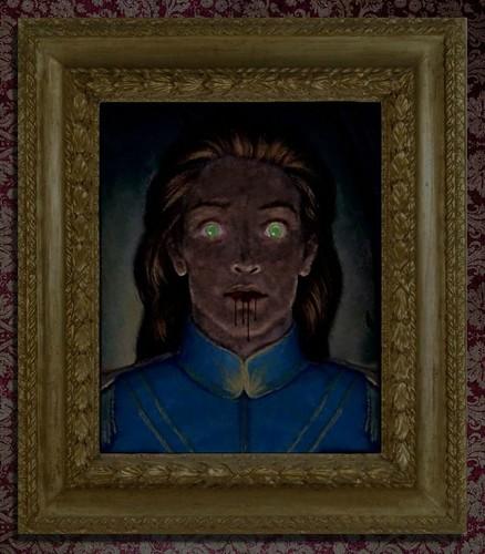 Disney Prince karatasi la kupamba ukuta called Prince Adam s Zombie Portrait